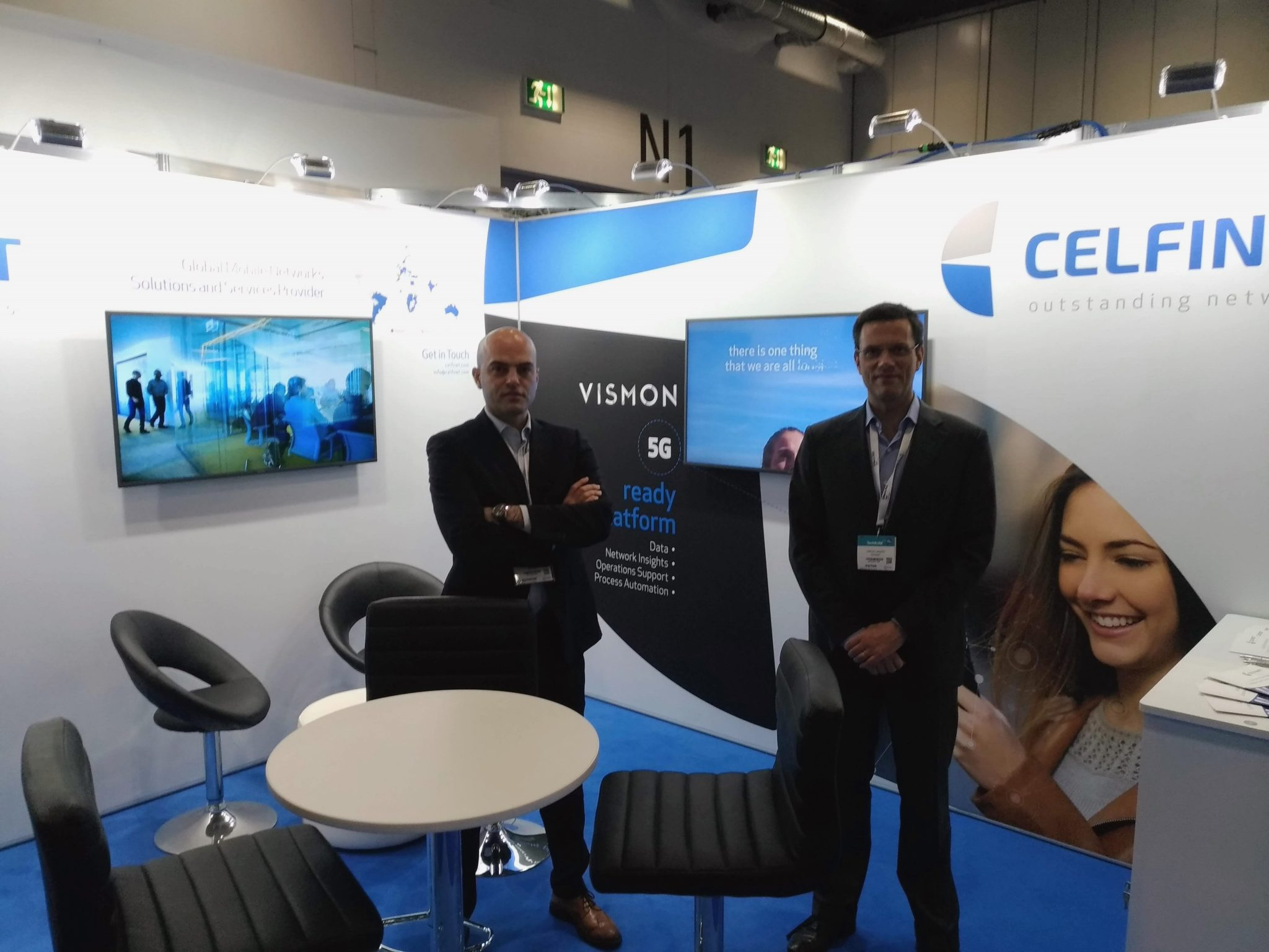 Celfinet's 5G-ready platform VISMON at TechXLR8 in London