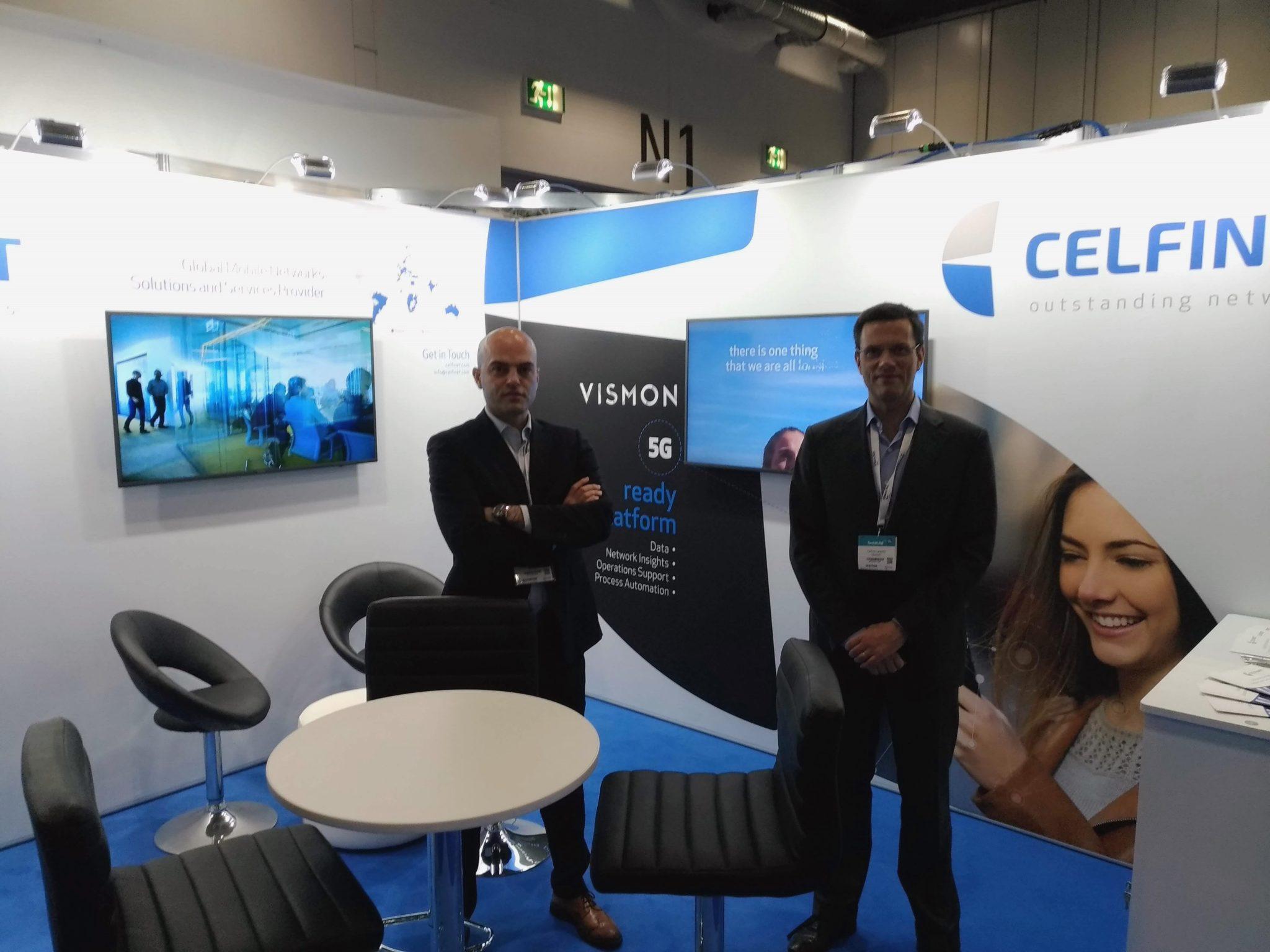 Celfinet's 5G-ready platform VISMON at TechXLR8 in London