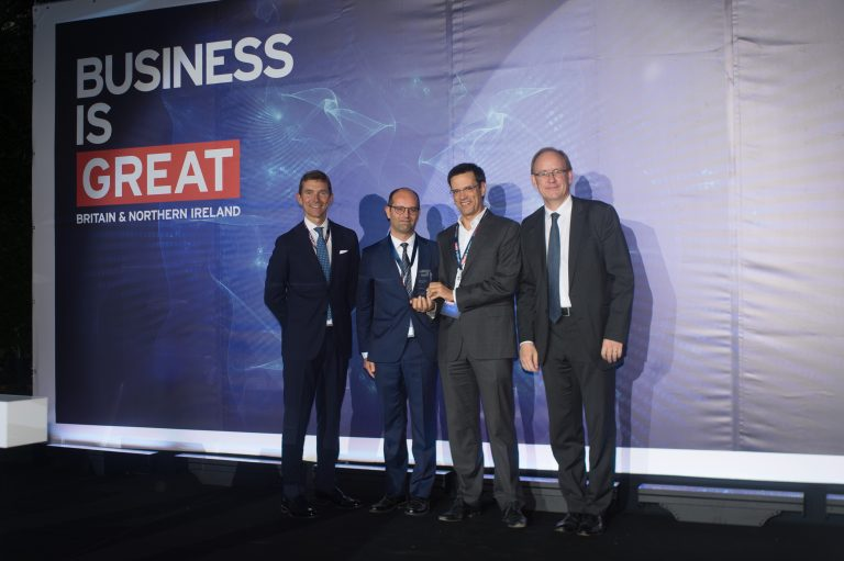 "CELFINET wins ""Investment Growth"" title at the DIT Business Awards 2018"