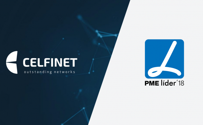 CELFINET distinguished as SME Leader 2018 by IAPMEI