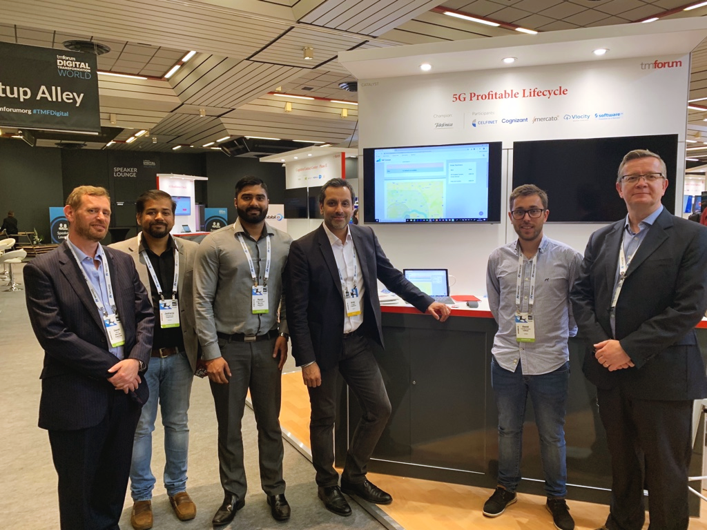 CELFINET at Digital Transformation World 2019 - Catalyst Project