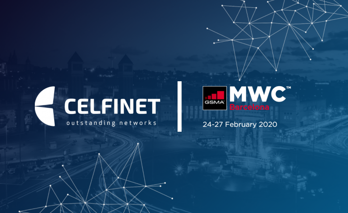 Celfinet at Mobile World Congress 2020 in Barcelona